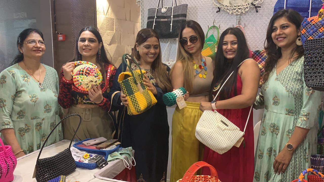 Vanitaa Rawat a well known Content Creator and NLP Practitioner, inaugurates Rivaaj (Fashion - Lifestyle - Art) exhibition